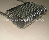 Bobina do condensador do aço inoxidável