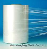 Film de rétrécissement transparent superbe de la chaleur de la polyoléfine de Singlewound (POF) pour universel avec approuvé par le FDA (sécurité alimentaire)