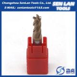 Торцевая фреза квадрата карбида высокой точности твердая для подвергать механической обработке CNC