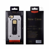 高品質のiPhone 7のための頑丈な二重層の金属の箱