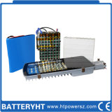 Batteria di litio solare per memoria dell'indicatore luminoso di via