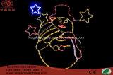 Свет украшения праздника рождества свечки СИД