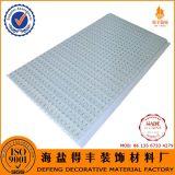 Tarjeta del panel de revestimiento de la pared del azulejo del techo suspendido del PVC del plástico de la decoración interior del material de construcción