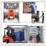 Elevador de frete grande da carga dos bens do armazém da capacidade de carga