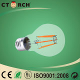 Bulbo do filamento do diodo emissor de luz de Ctorch A60 4W com base E27