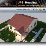 Casa pré-fabricada bonita do SIP do baixo custo com a foto 3D