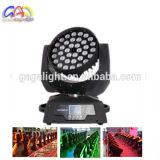 36X18W 6in 1 indicatore luminoso capo mobile LED dello zoom UV di RGBWA