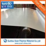 Porcelaine PVC blanc brillant film rigide pour l'impression