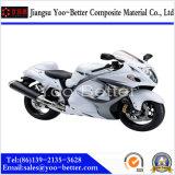 La motocicleta de la fibra del carbón parte a FO Suzuki