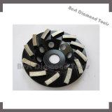 """диск абразивного диска чашки металла диаманта 4 """" 5 """" 7 """" истирательный для конкретного каменного мраморный гранита"""