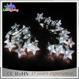 星形の装飾電池制御LED多彩なストリングライト