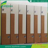 Fumeihuaのフェノールの4つのドアの貯蔵用ロッカーのキャビネット