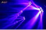 디스코 단계 (HL-016YT)를 위한 8PCS*10W 거미 LED 광속 이동하는 헤드