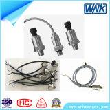 Transmissor de pressão cilíndrico esperto do aço 4-20mA inoxidável para o condicionador de ar