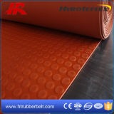 Het Transparante RubberBlad op hoge temperatuur van het Silicone van de Rode Kleur