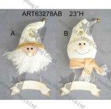 손 자수를 가진 느슨한 서 있는 눈사람 크리스마스 선물은 디자인한다 2assst.