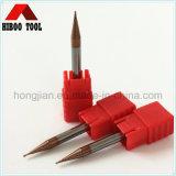 HRC55 торцевые фрезы покрытия слоем меди 0.3mm микро-