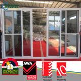 Дверь Plastic/PVC нутряная, дверь Slidng прошла CE/ISO9001: 2008