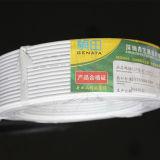 Câblage téléphonique 4*0.4/câbles blancs d'intérieur