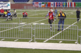 Galvanisiertes Crowd Control Barrier für Separation