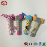 Brinquedo engraçado do bebê do Squeaker da mão do macaco do elefante do bebê