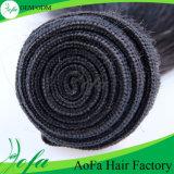 Trama dei capelli umani di estensione dei capelli del Virgin di Dyeable dei Peruvian di 100%