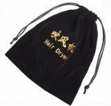 Sacchetto caldo del fon dell'hotel di vendita/sacchetto del tessuto marchio del ricamo