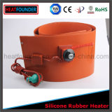 Calefator industrial flexível personalizado da borracha de silicone da venda quente