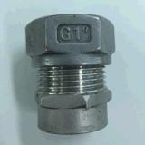 Embouts de durites métal-gaz d'acier inoxydable