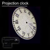 [Ganxin] colorer l'horloge numérique électronique créatrice à télécommande de projection de DEL