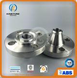 La bride duplex de Wn d'acier inoxydable a modifié la bride à ASME B16.5 (KT0106)