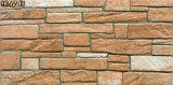 Telha ao ar livre cerâmica da parede exterior da porcelana de Brown (300X600mm)