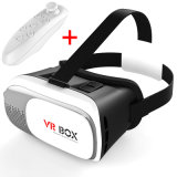 원격 제어 3.5 - 6 인치 Smartphone 지능적인 Bluetooth를 위한 II 가상 현실 헬멧 Immersive 휴대용 3D Vr 상자 2 3D Vr 유리
