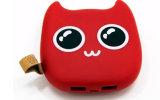 소형 악마 충전기 나쁜 고양이 Halloween 동안 휴대용 힘 은행 스페셜