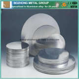 vario piatto del cerchio della lega di alluminio di standard 2017A