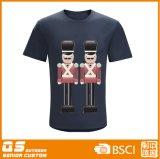 T-shirt à séchage rapide de mode d'impression du mélange des hommes