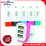 移動式携帯電話の小道具3 USBのアダプターのトグルスイッチ車の充電器