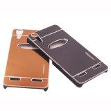 Зеркало 2 металла в 1 аргументы за Samsung телефона PC+Metal покрывает