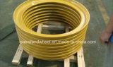 Boucle de blocage/bande latérale de boucle et de portée de talon pour le RIM de roue d'OTR