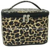 Animalier Leopard PU-Deckel mit Belüftung-Arbeitsweg-Toilettenartikel-Kosmetik-Beutel