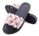 숙녀를 위한 꽃 여자 PVC 슬리퍼