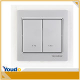 868.42MHz Frequency WiFi Smart Home Wall Switch
