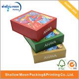 Покрасьте коробку новой конструкции подарка изготовленный на заказ бумажную (QY150005)