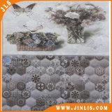 Tegel van de Muur van de Badkamers van de Bloem van het Mozaïek van het Bouwmateriaal de Hexagonale Ceramische