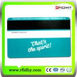 Smart Card magnetico personalizzato di RFID prestampato iso Lf di HF di insieme dei membri senza contatto di frequenza ultraelevata
