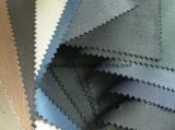 Tissu de laines de genres avec le polyester en stock prêt