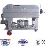 Separação portátil móvel, Óleo-Água, máquina do filtro de óleo do Solid-Liquid