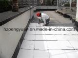 アルミホイルの上塗を施してあるガラス繊維の熱絶縁体ファブリック