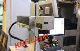 스테인리스 또는 전화 상자 로고 Fiber20W/30W Laser 표하기 기계에 색깔 표하기