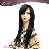 Peruca cheia Handmade do laço do cabelo humano do cabelo brasileiro de Remy do Virgin